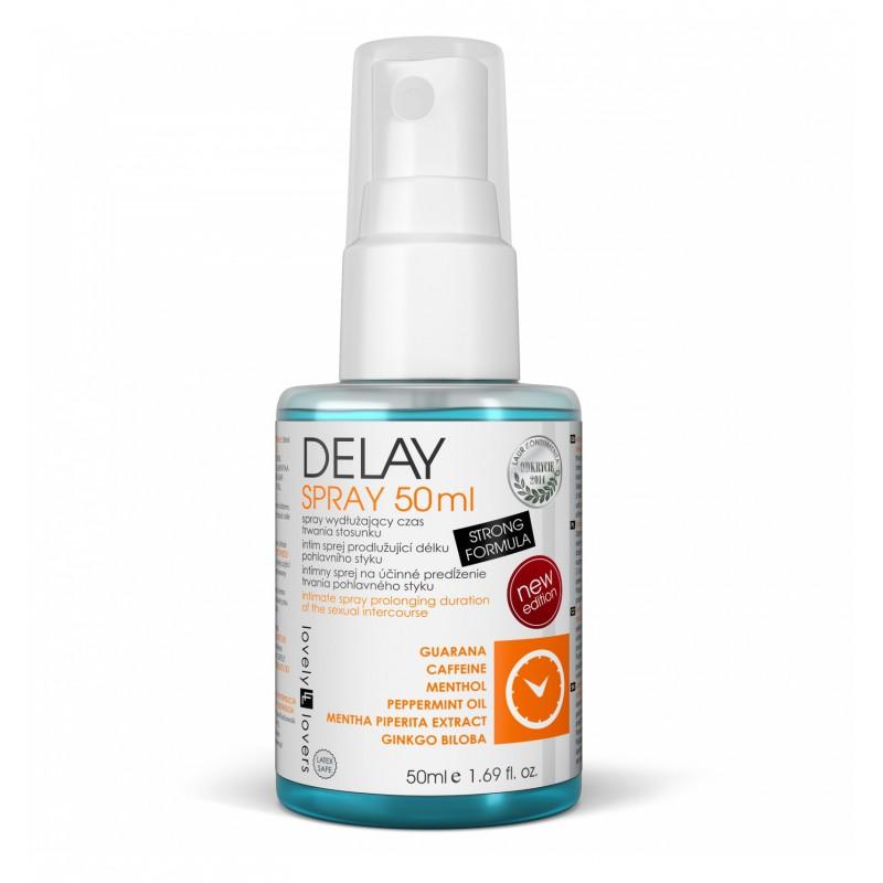 Lovely Lovers DELAY Spray 50 ml - Wydłuża Czas Trwania Stosunku