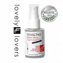 Lovely Lovers MAXILONG Spray 50 ml - Większy Rozmiar Erekcji (3)
