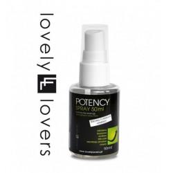 Lovely Lovers POTENCY Spray 50 ml - Wzmacnia Erekcje (4)