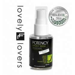 Lovely Lovers POTENCY Spray 50 ml - Wzmacnia Erekcje (5)