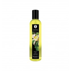 Shunga - Exotic Green Tea Organic Massage Oil 250 ml