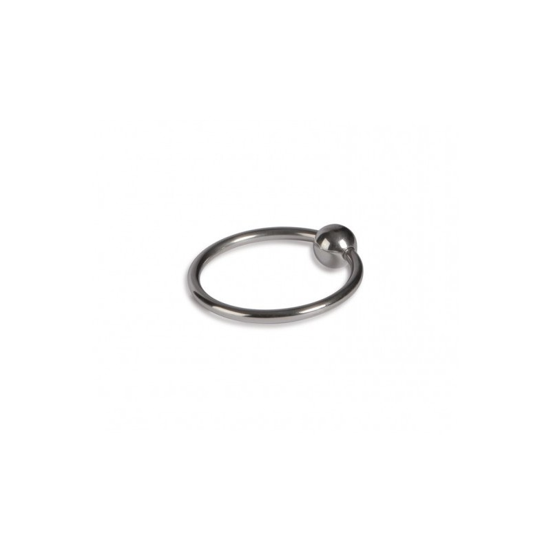 Pierścień na penisa z kulką Titus Range: Head Glans Ring 28mm