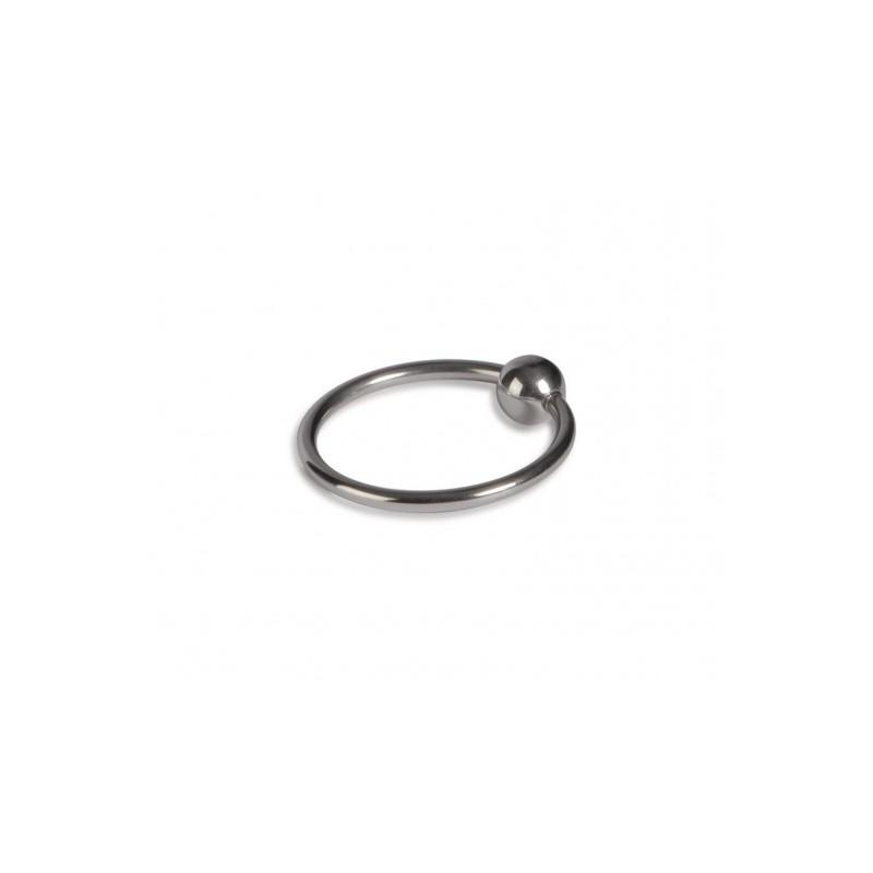Pierścień na penisa z kulką Titus Range: Head Glans Ring 32mm