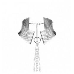 Obroża Bijoux Indiscrets - Désir Métallique Collar (srebrna) (4)