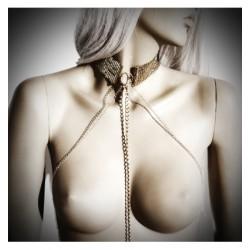 Obroża Bijoux Indiscrets - Désir Métallique Collar (złota)
