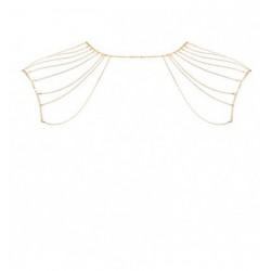 Łańcuszek na plecy Bijoux Indiscrets Magnifique (złoty)