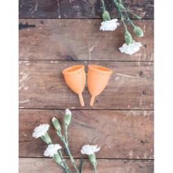 Lunette Menstrual Cup Orange - model 2