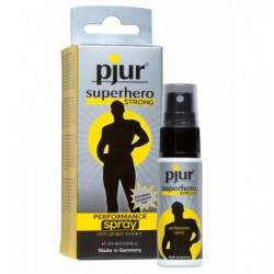 Sprej intymny pjur superhero STRONG PERFORMANCE spray 20 ml