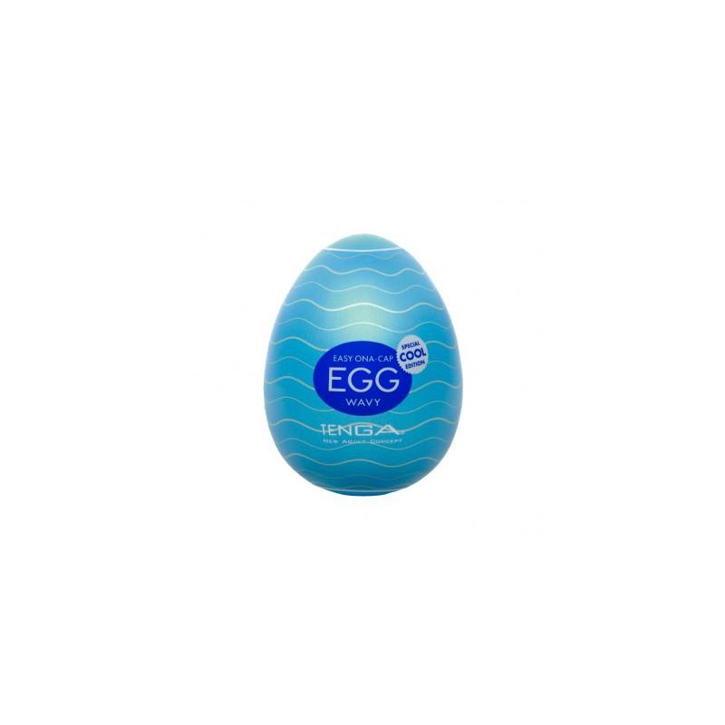 Masturbator Tenga Egg - Wavy Cool