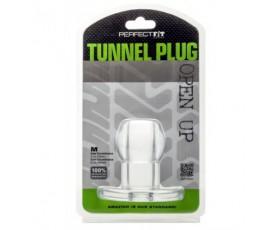 Tunel analny Perfect Fit - Ass Tunnel Plug rozmiar XL (przeźroczysty)