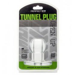 Tunel analny Perfect Fit - Ass Tunnel Plug rozmiar XL (przeźroczysty) (3)