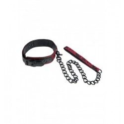 Smycz z Obrożą SCANDAL COLLAR WITH LEASH