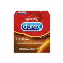 Prezerwatywy Durex Real Feel A3 nielateksowe (2)