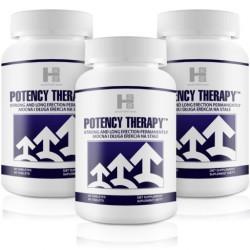 3x Potency Therapy (180 tab.) - Silna Erekcja, Potencja