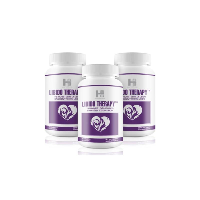 3x Libido Therapy (90 tab) - Zwiększa Libido u Kobiet