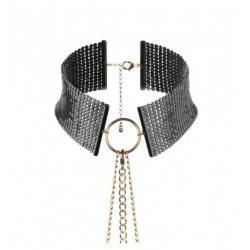 Obroża Bijoux Indiscrets - Désir Métallique Collar (czarna)