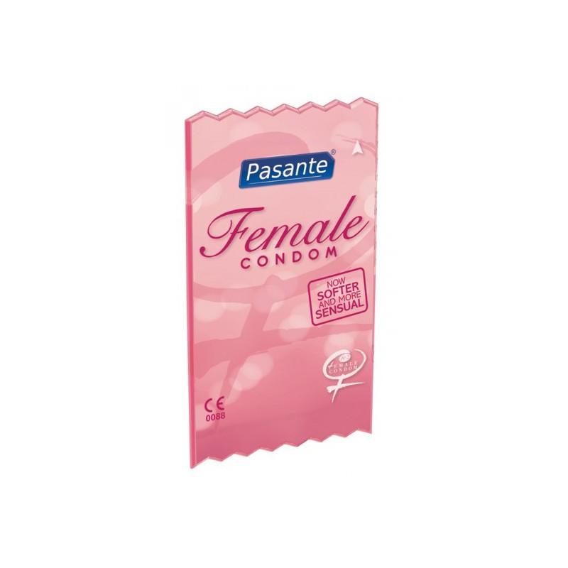 Pasante - Female Condom (1op. / 3 szt.)