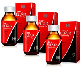 3x Sex Elixir Spanish Fly - Hiszpańska Mucha Afrodyzjak (45ml)