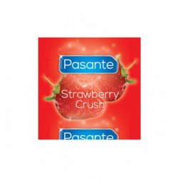 Prezerwatywy Pasante Strawberry Crush Bulk (144 szt.)