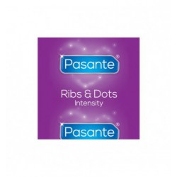 Prezerwatywy Pasante Ribs & Dots/Intensity Bulk Pack (144 szt.)