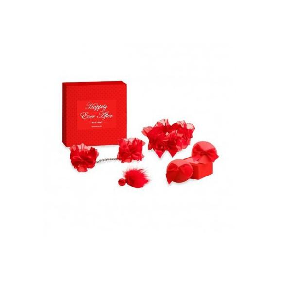 Zestaw panny młodej Bijoux Indiscrets - Happily Ever After Red Label
