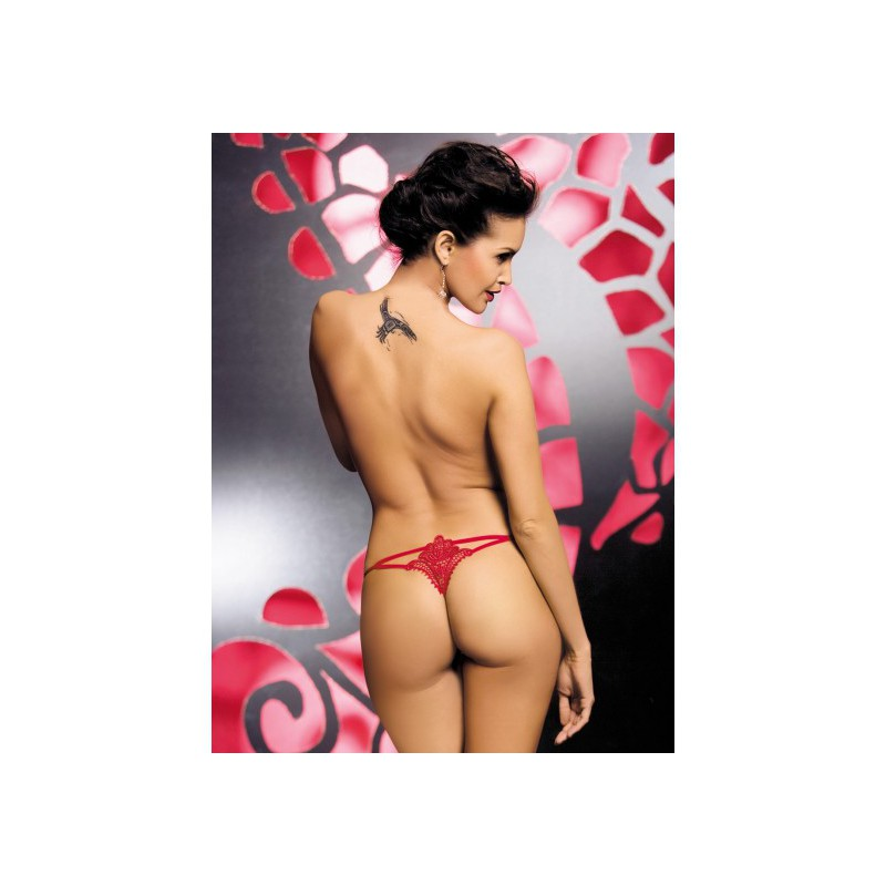 Luiza stringi czerwone L/XL