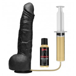 Dildo z moczem Kink Wet Works Drencher - Silicone Squirting Cock