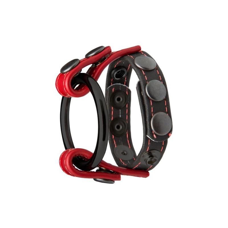 Pierścień erekcyjny Kink Cock & Ball Master Ring