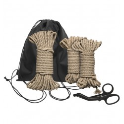 Zestaw lin do krępowania Kink Bind & Tie Initiation Kit 5 Piece Hemp Rope