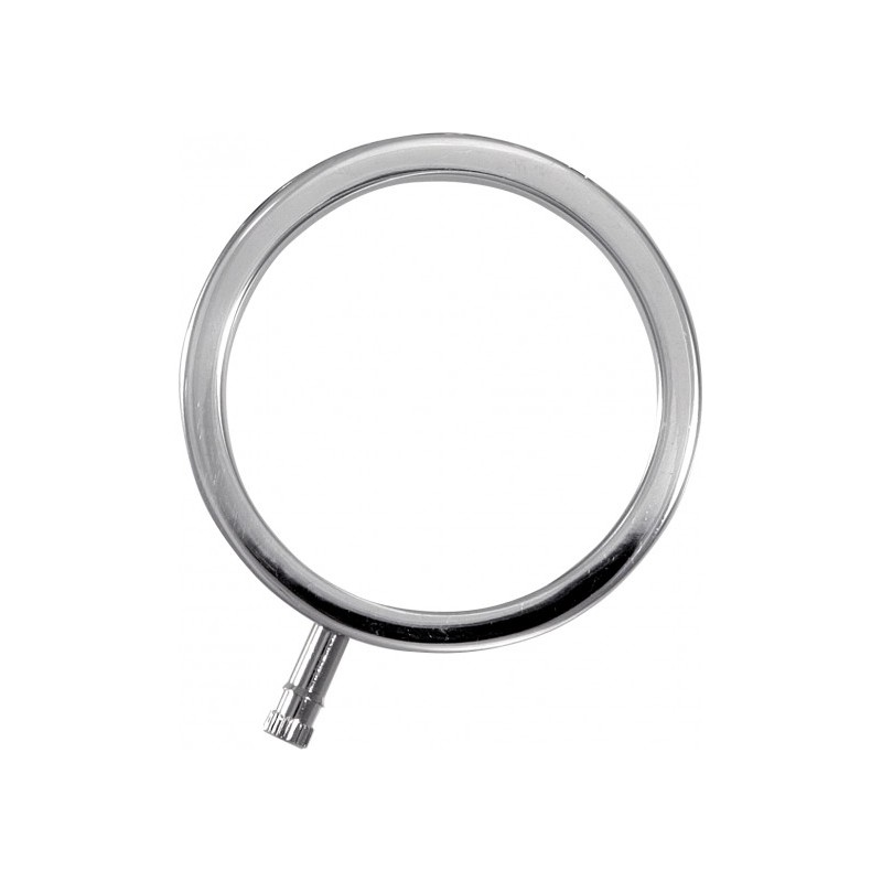 Pierścień erekcyjny 56mm (metalowy do elektroseksu)