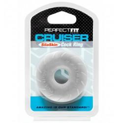 Pierścień erekcyjny Perfect Fit SilaSkin Cruiser Ring Clear