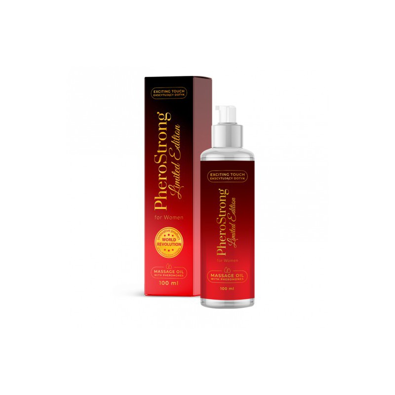 Olejek do masażu PheroStrong Limited Edition for Women Massage Oil 100ml