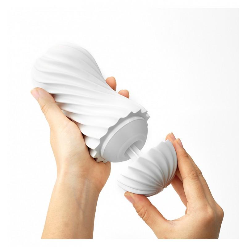 Masturbator Tenga - Flex (biały)