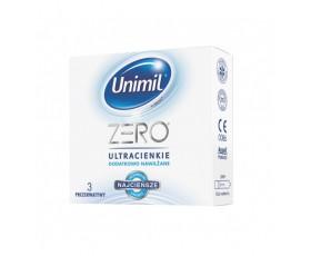Prezerwatywy Unimil - Zero (1 op. / 3 sztuki)