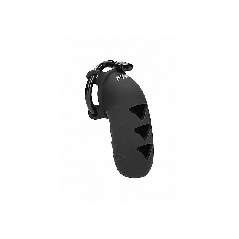 "Model 08 - Chastity - 4,2"" - Silicone - Black"