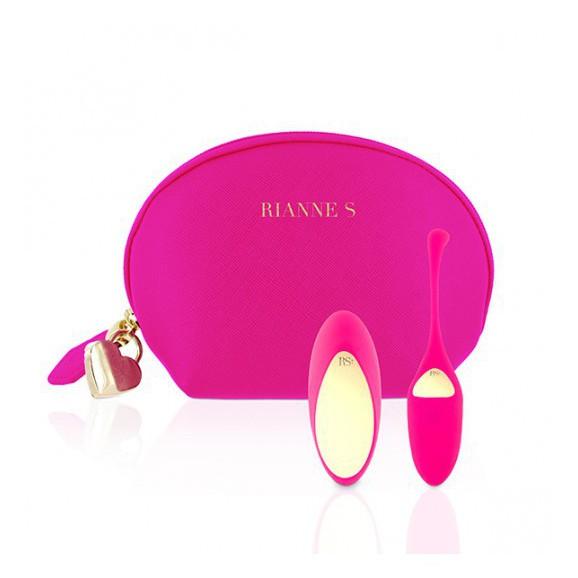 Wibrujące jajeczko Rianne S Essentials Pulsy Playball Pink