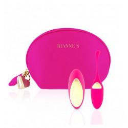 Wibrujące jajeczko Rianne S Essentials Pulsy Playball Pink (2)
