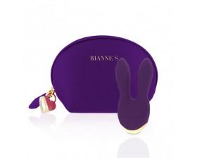 Masażer Rianne S Essentials Bunny Bliss Deep Purple
