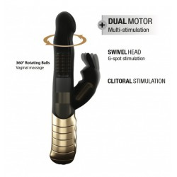 Wibrator Dorcel Baby Rabbit Black & Gold 2.0 (9)