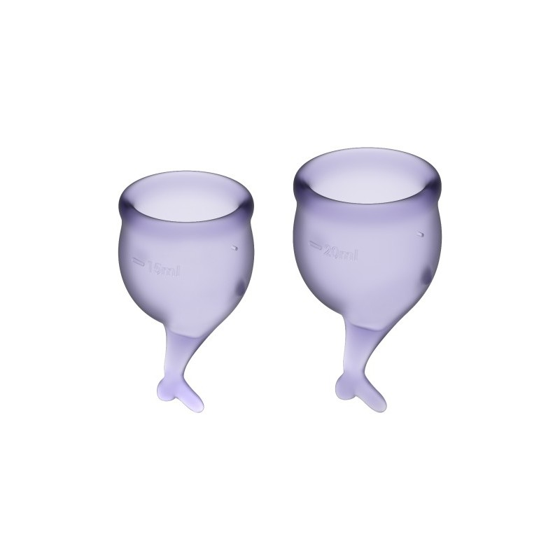 Feel Secure Menstrual Cup Set Lila