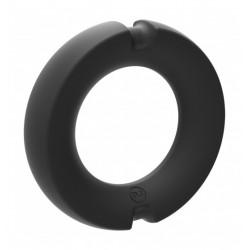 Pierścień na penisa Kink Hybrid Silicone Covered Metal Cock Ring 35mm