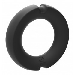 Pierścień na penisa Kink Hybrid Silicone Covered Metal Cock Ring 45mm