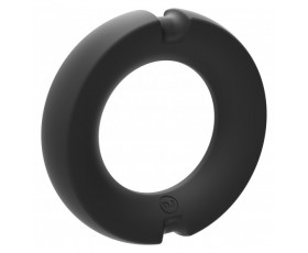 Pierścień na penisa Kink Hybrid Silicone Covered Metal Cock Ring 50mm