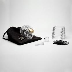 CB-X Mini Me Chastity Cage Clear (5)