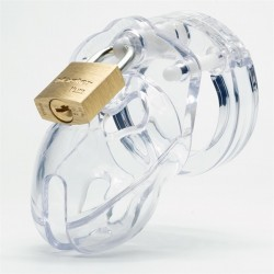 CB-X Mr Stubb Chastity Cage Clear (2)
