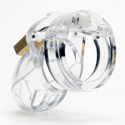 CB-X Mr Stubb Chastity Cage Clear (3)