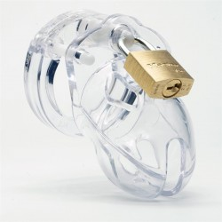CB-X Mr Stubb Chastity Cage Clear (4)
