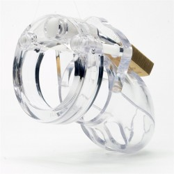 CB-X Mr Stubb Chastity Cage Clear (5)