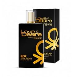 Love&Desire Gold Homme Feromony Męskie 100ml