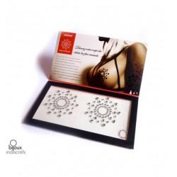 Nakładki na sutki Bijoux Indiscrets - Mimi, srebrne